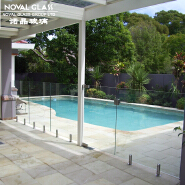 Spigot Tempered Glass Swimming Pool Fencing