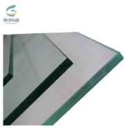 cutting toughened glass for pool fence panel 6mm for buildings glass shower