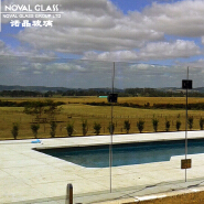 Customized Design Swimming Pool Glass Fencing