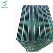 0.76 PVB clear tempered laminated glass