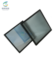 tempered double glazing glass insulated glass for curtain wall facade work