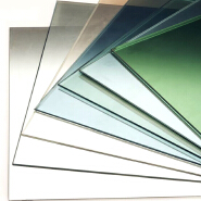 Excellent low emissivity glass 5mm, outdoor heat control low e glass, indoor sun reduce glass low e