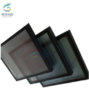 architectural glass facade Low-E tempered glass