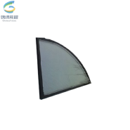 Top quality curtain wall insulated low e tempered glass price