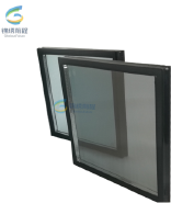 aluminum double glass double glazing Lowe glass for curtain wall