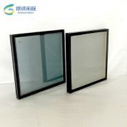 China suppliers vacuum glazing low e glass made by glorious future for facades and windows