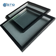 4mm+6A+4mm tempered reflective insulated glass
