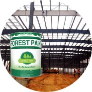 Fire proof coating - Fire retardant paint for metal / fireproofing paint for steel /flame proof paint