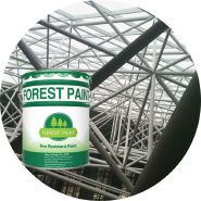 Fire Proof Paint for Steel Structure (Fire Rated 3 Hours)