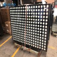 4mm+6A+4mm silk screen insulated glass