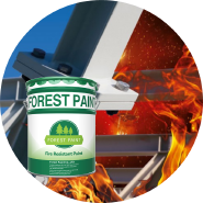 Ultra-thin type inflated fire rated paint intumescent fire rated paint for steel