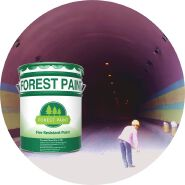 Wholesale 8-45 mm Thick Fire-retardant Coatings for Tunnels