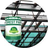 Intumescent fireproof paint fire retardant paint lowes anti-fire paint