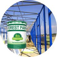National standard fire resistant spray paint