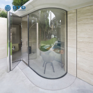 8.38mm-31.52mm laminated curved glass
