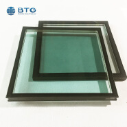 3mm+0.38pvb+3mm+6A+3mm+0.38pvb+3mm tinted laminated insulated glass