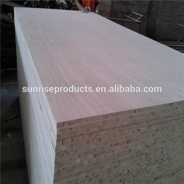 red oak veneer poplar core block board