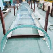 17.14mm-31.52mm laminated hot bending glass