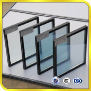 Qinhuangdao energy saving tempered low E online offline coated insulated glass