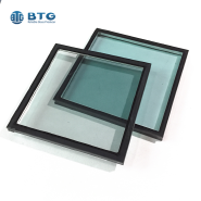 4mm clear+6A+4mm reflective energy-saving insulated glass
