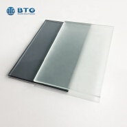 4mm 5mm 6mm 8mm clear tempered acid etching glass