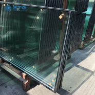 4mm clear+6A+4mm off line single silver low-e insulated glass