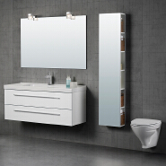 Best-Selling Best Quality Comfortable Design PVC Bathroom Vanity