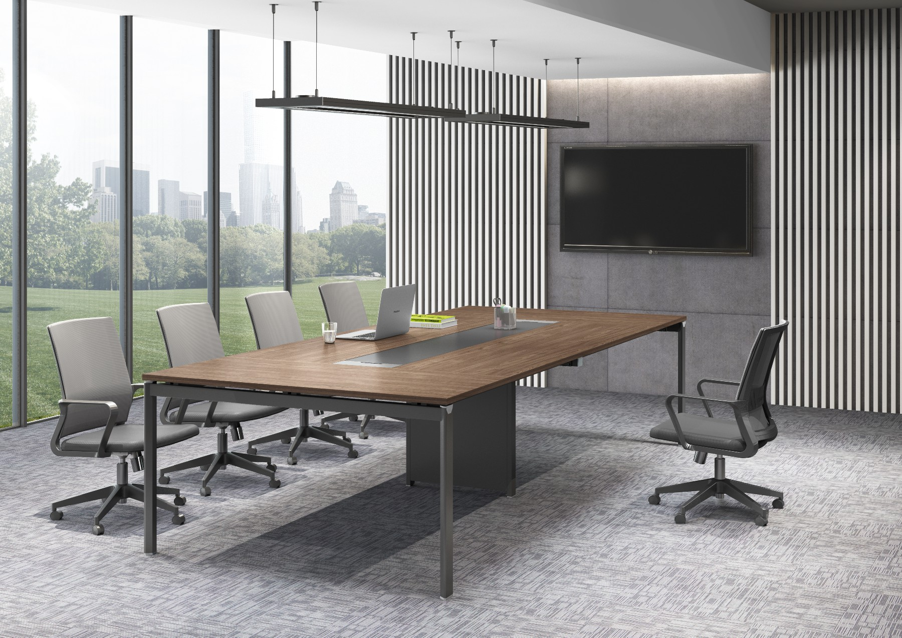 High Tech Chinese Modern Conference Table Office Furniture