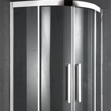 Cheap price of 6mm glass bathroom shower room price EHA11