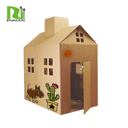 Children Intelligence Toys Recycled Cardboard Play House