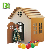 pop strong paper furniture cardboard playhouse for kids