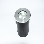 9W Led Inground Lights In Concrete CE RoHS EMC LVD Single Color RGB IP67 Led light