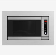 Auto defrost setting 22L Electronic control Microwave oven with grill