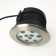 Ground led light ,waterproof underground lights,rotate 18W in ground led lights 24V