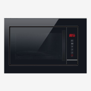 LED Display 245mm Glass Turntable Built-in Microwave Oven