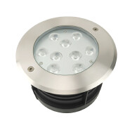Led garden in ground 24V 18W single color ip67 waterproof step light