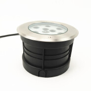 High quality IP67 RGB LED stainless steel cover LED inground light undergrounded light uplight