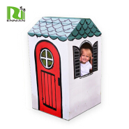 Customized Creative Paper Cardboard kids play house