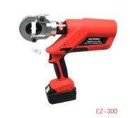60KN good quality rechargeable EZ-300 hydraulic cable lug terminal crimping tool for aluminum copper