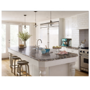 Modern artifical stone kitchen island quartz table top
