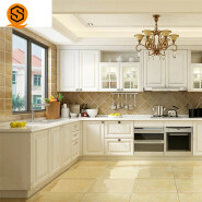 Best quality flame resistant artificial solid surface stone countertop for Kitchen