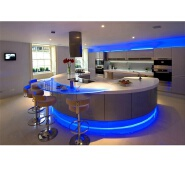 Fashion moon Luminous home led kitchen bar counter design