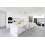 Real estate building countertop precut quartz kitchen countertop