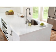 quartz kitchen countertop glossy acrylic solid surface kitchen counter top