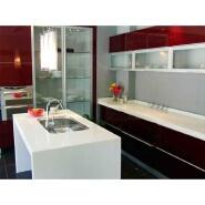 Artificial marble seamless joint kitchen countertop corians bar top