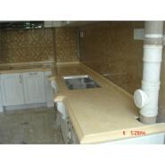 Professional manufacture custom kitchen furniture acrylic countertop