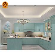 Modern kitchen design solid surface kitchen countertops white marble counters kitchen