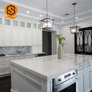 Easy-clean artificial stone countertop acrylic resin quartz stone kitchen countertops