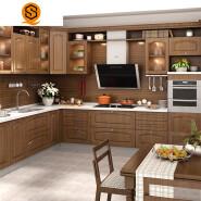 Luxury kitchen furniture granite kitchen countertop