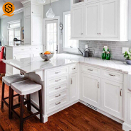CE SGS approved solid surface kitchen counter top marble with reasonable price